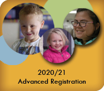 2020/21 Advanced Registration Begins Jan. 18, 2021